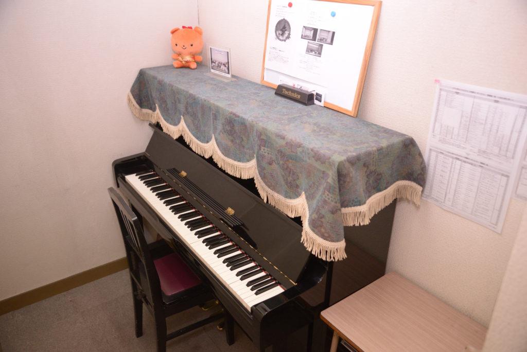 ピアノ専用室
